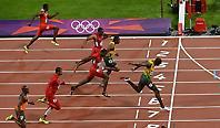 Ο τελικός των 100μ.