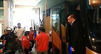Άφιξη Ολυμπιακού στο ΟΑΚΑ με... Αγγελόπουλους (Web TV)