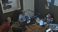 Η Μιρέλα Πάχου στο στούντιο του  NovaΣΠΟΡ FM 94.6