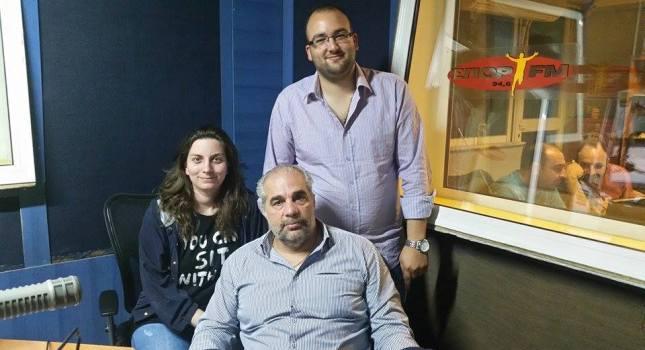Ο Γιαννης Βαρελτζής στον ΣΠΟΡ FM 94,6