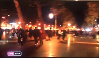 Η στιγμή του πανικού στο Παρίσι