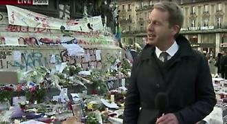 Λύγισε και έκλαψε live ο ρεπόρτερ του BBC στο Παρίσι!