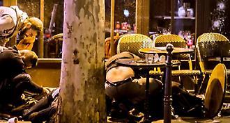Βίντεο-σοκ με πτώματα να κείτονται μπροστά στο Cafe Bonne Biere