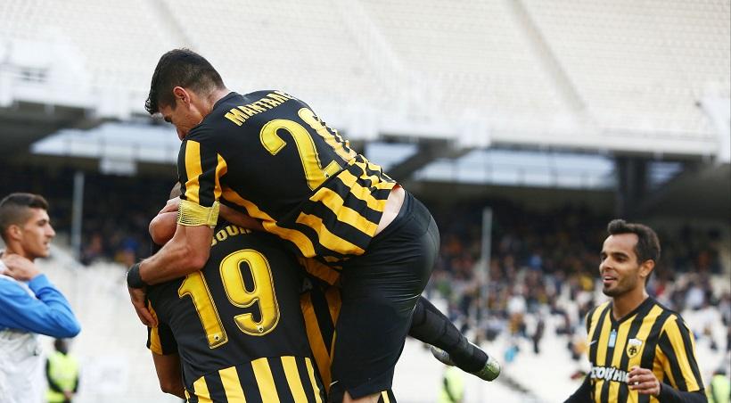 ΑΕΚ-Παναιτωλικός 2-0