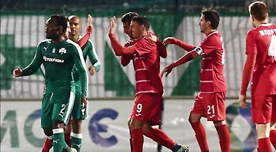 Παναθηναϊκός-SKODA Ξάνθη 0-1