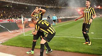 AEK-Ολυμπιακός 1-0