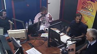 Ντέμης-Καραγκούνης-Νικοπολίδης  στο στούντιο του ΣΠΟΡ FM 94.6 (Μέρος Α)