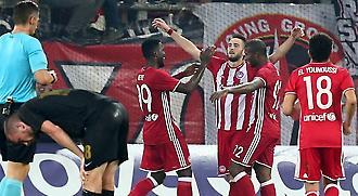 Ολυμπιακός-ΑΕΚ 3-0
