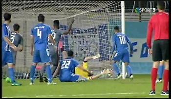 Το αυτογκόλ που έγραψε το 3-0 για τον Ολυμπιακό στα Χανιά (video)
