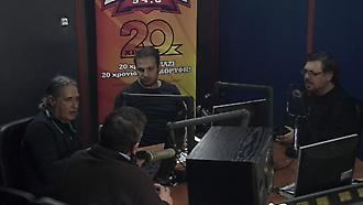 Όλη η εκπομπή του Ντέμη με καλεσμένους τους Μαχαιρίτσα, Θαλασσινό στον ΣΠΟΡ FM 94,6 (Β' μέρος)