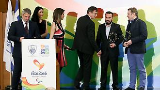 H Ελληνική Παραολυμπιακή Επιτροπή βράβευσε τον ΣΠΟΡ FM 94,6