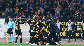 ΑΕΚ-Ολυμπιακός 1-0