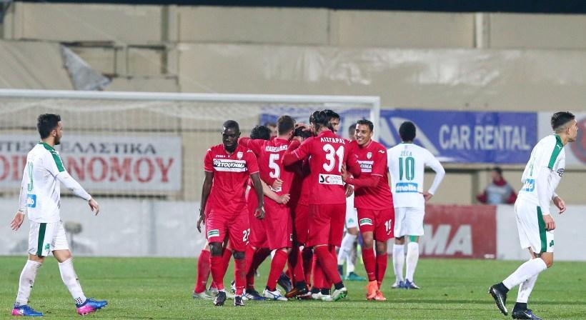 Ξάνθη-Παναθηναϊκός 1-0