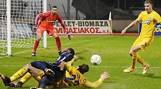 Λεβαδειακός-Αστέρας Τρίπολης 1-1