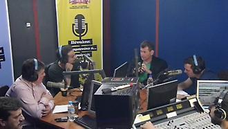 Ο Μίκαελ Σκίμπε στον ΣΠΟΡ FM 94,6 (Α' Μέρος)