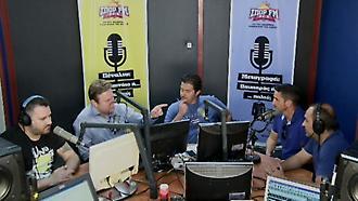 Ο Μανόλο Χιμένεθ στο στούντιο του ΣΠΟΡ FM (δεύτερο μέρος)
