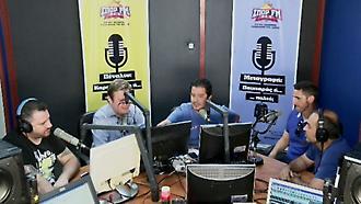 Ο Μανόλο Χιμένεθ στο στούντιο του ΣΠΟΡ FM (τρίτο μέρος)