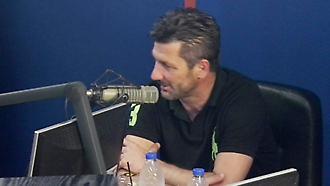 O Μαρίνος Ουζουνίδης στον ΣΠΟΡ FM 94.6
