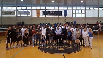 Φιλανθρωπικός αγώνας μπάσκετ UNESCO: Δημοσιογράφοι vs Αθλητές