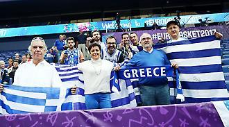 Οι Έλληνες έκαναν… σαματά στο Ελσίνκι (video)