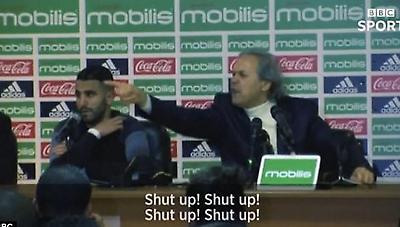 Απίστευτο «πέσιμο» ομοσπονδιακού τεχνικού της Αλγερίας σε δημοσιογράφο: «Σκάσε!»