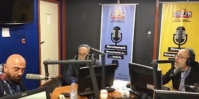 Ο Γιάννης Ζουγανέλης έκανε... Μπαμ και κάτω στον ΣΠΟΡ FM 94,6!