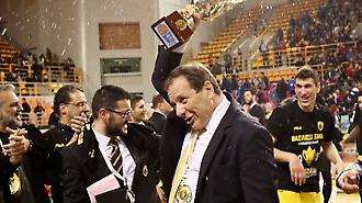 Αγγελόπουλος: «Στόχος να φέρουμε το Final 4 στο ΟΑΚΑ»