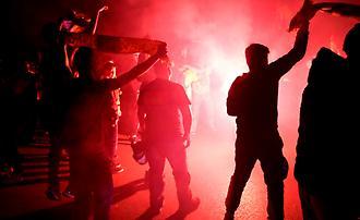 Το «πάρτι» των ΑΕΚτζήδων στη Νέα Φιλαδέλφεια (1)