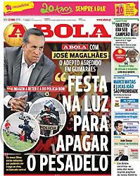 Πρωτοσέλιδο εφημερίδας A BOLA