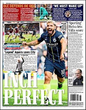 Πρωτοσέλιδο εφημερίδας Daily Express