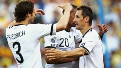 Live: Γερμανία-Αγγλία 4-1