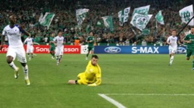 ΠΑΟ-Κοπεγχάγη 0-2 (Ημίχρονο)