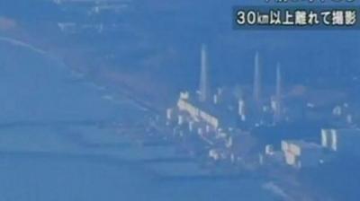 Η ώρα που το τσουνάμι πλήττει το Φουκουσίμα (video)