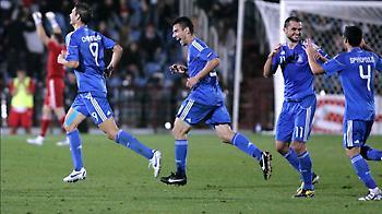 Οι πιθανοί αντίπαλοι της Ελλάδας στο Euro 2012