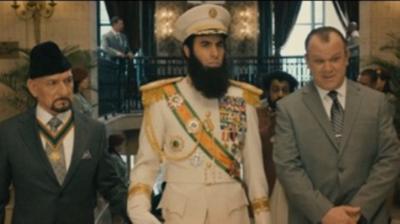 Από τον Μπόρατ στον «Δικτάτορα»! (video)