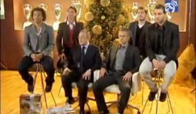 «Καλά Χριστούγεννα» από τη Ρεάλ Μαδρίτης! (video)