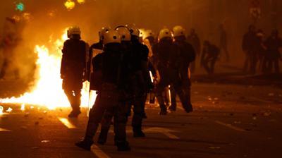 Εκτός ελέγχου η κατάσταση στην Αθήνα