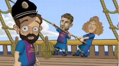 Το promo της Μπαρτσελόνα για το ματς με τη Λεβερκούζεν