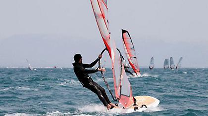 Αγώνας Formula - Windsurf στον Πόρο