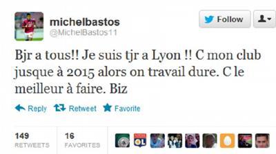 Μπάστος: «Για πάντα στη Λιόν»!