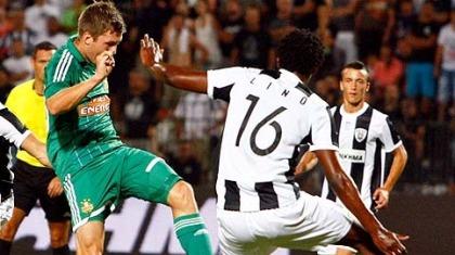 Ραπίντ Βιέννης-ΠΑΟΚ 3-0 (τελικό)
