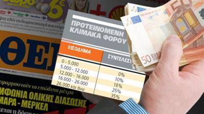 Φόρος 50% σε 1.000 πλούσιους Ελληνες με «συνταγή» Ολάντ