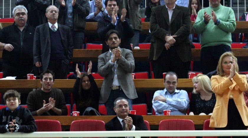 Δημήτρης & Θανάσης Γιαννακόπουλος είδαν το ματς από τα VIP με μία σειρά... διαφορά