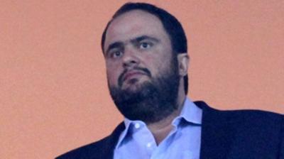 Μαρινάκης: «Ξεφτιλίζει το ποδόσφαιρο χωρίς να έχει βάλει ευρώ»