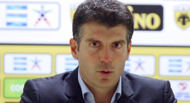 Χριστόπουλος: «Παίζουμε το πιο δύσκολο παιχνίδι μας»