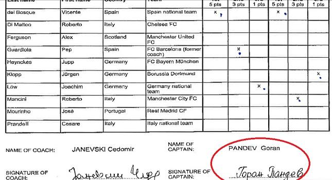 Πάντεφ: «Πλαστή η υπογραφή μου»