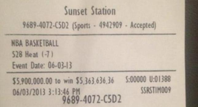 Ρίσκαρε 5,9 εκατ. δολάρια στο στοίχημα και... κέρδισε!