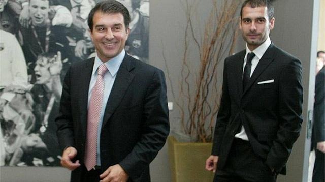 Λαπόρτα: «Έκαναν τα πάντα για να φύγει ο Γκουαρντιόλα»