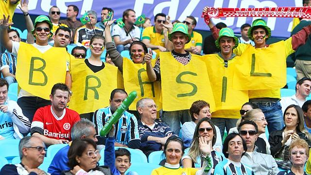 Βραζιλιάνικη επίδειξη σε άδειες κερκίδες (video)