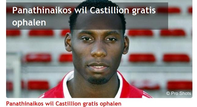 «Θα μιλήσουμε με ΠΑΟ για Καστιλιόν»